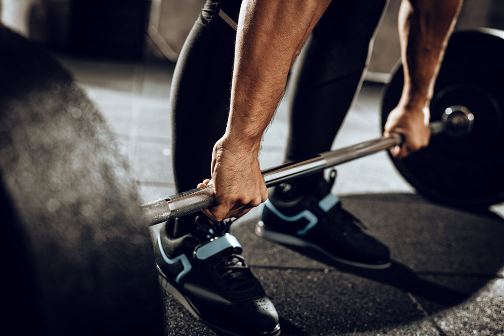 Can you deadlift without bumper plates?