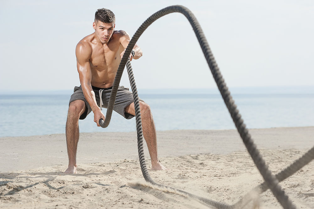 Do battle ropes work abs?