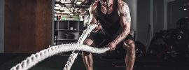 What muscles do battle ropes work?