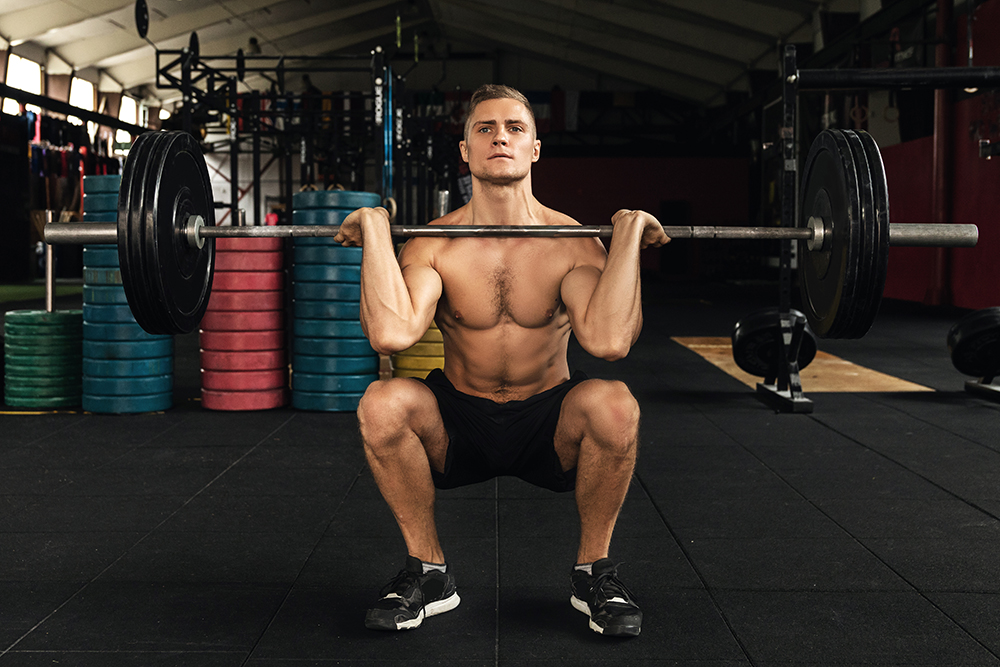 Barbell hack squat vs front squat