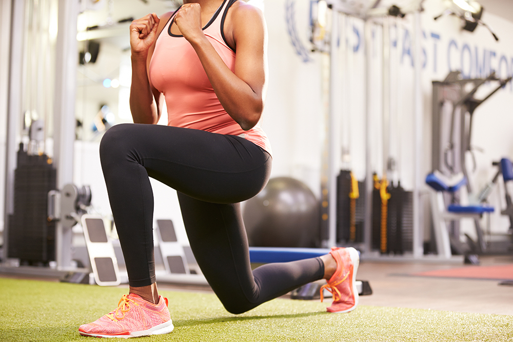 Do lunges make your thighs bigger?