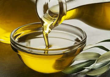 Olive oil in protein shake