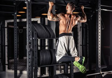 Doing pull-ups throughout the day