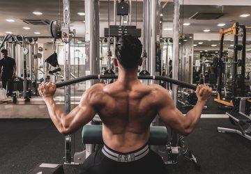Lat pulldown shoulder pain